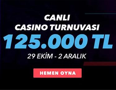 Süperbahis canlı casino turnuvası